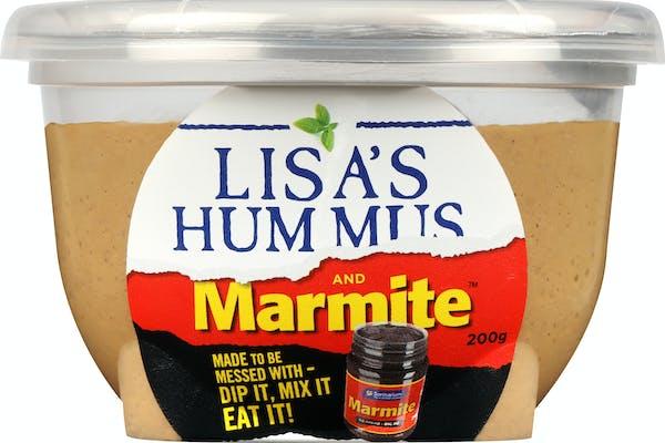 lisa's marmite hummus