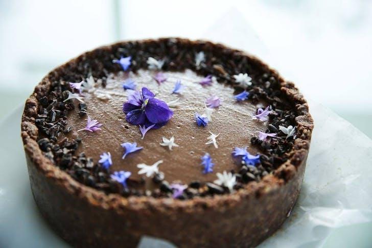 Chocolate Tart from Gather Wholefoods