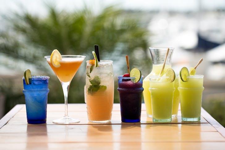 Margaritas from Marina Cantina
