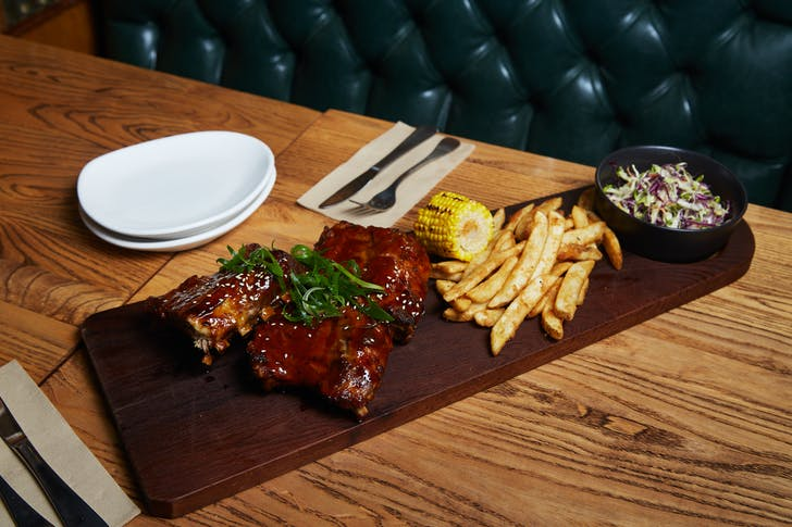 Rib platter from The Apothecary
