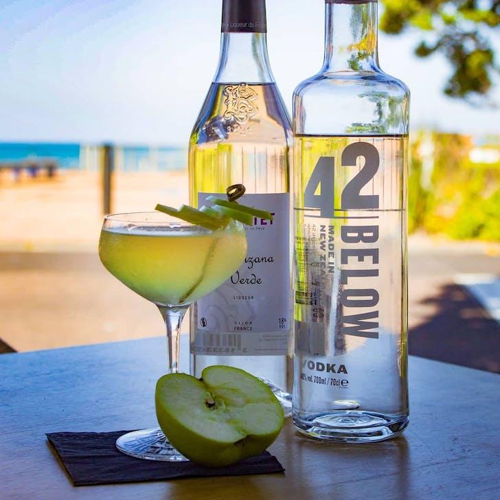 Apple Martini from Cheek & Chong