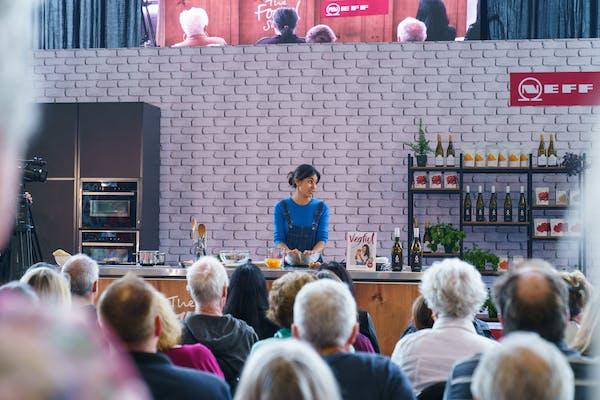 Nadia Lim at the food show