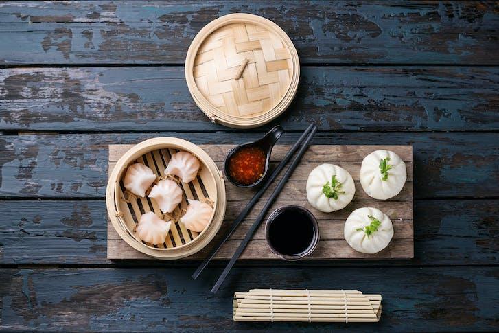 A classic dim sum dumpling dish