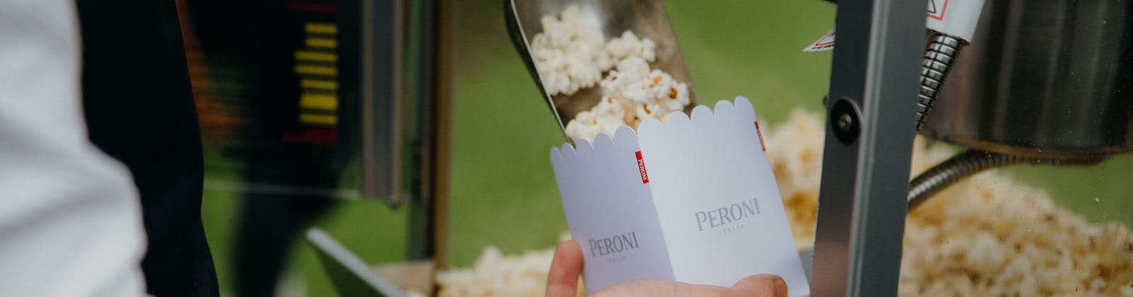 Peroni outdoor cinemas in Britomart
