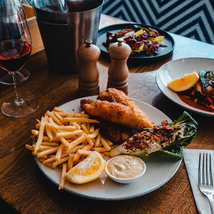 Fish & Chips from Grangers Tap House & Kitchen