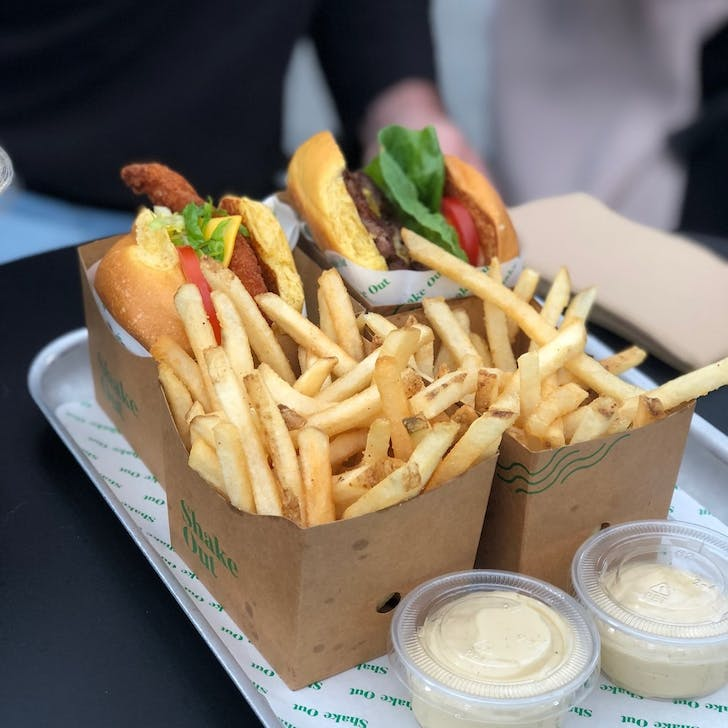 Burgers and Fries from Shakeout