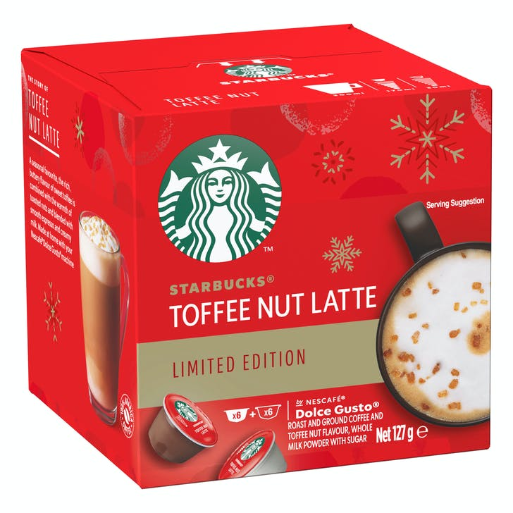 Starbucks launch their Christmas flavours in capsule form for at-home enjoyment.