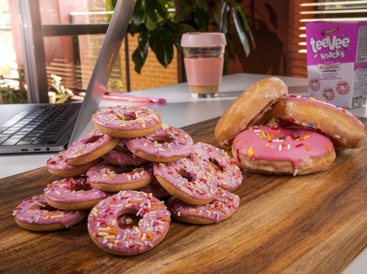 Arnott's & Krispy Kreme team up to bring us teeVee Snacks.