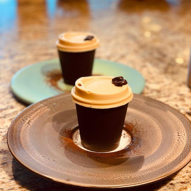 Miann's edible coffee cup tiramisu