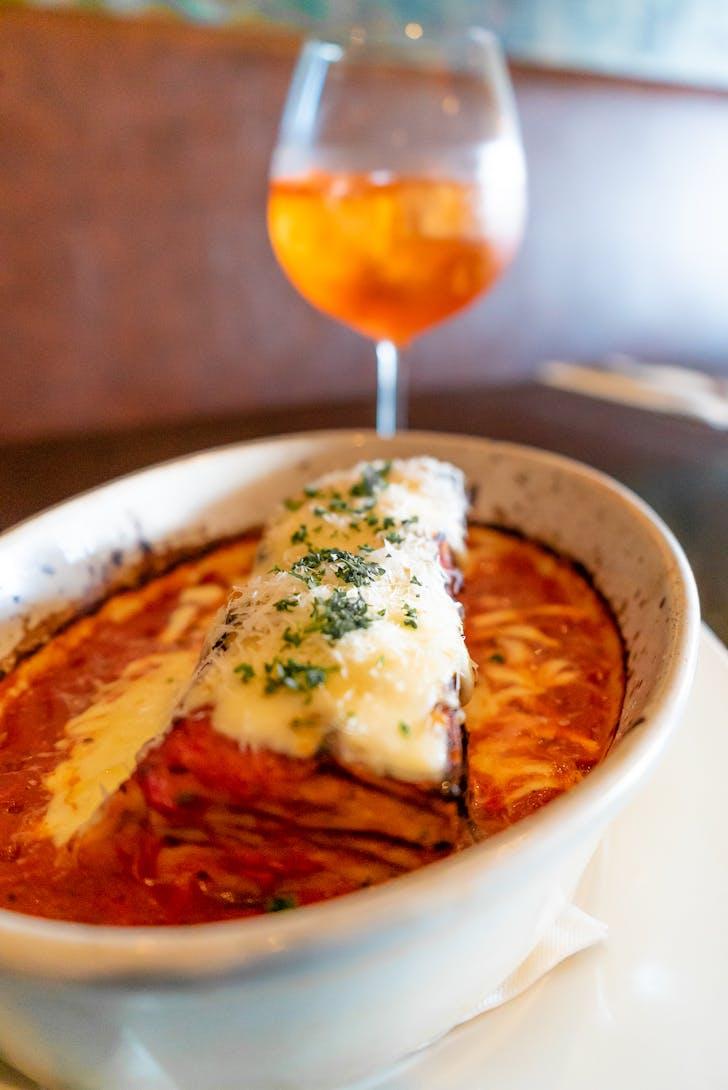Al forno's beef lasagne