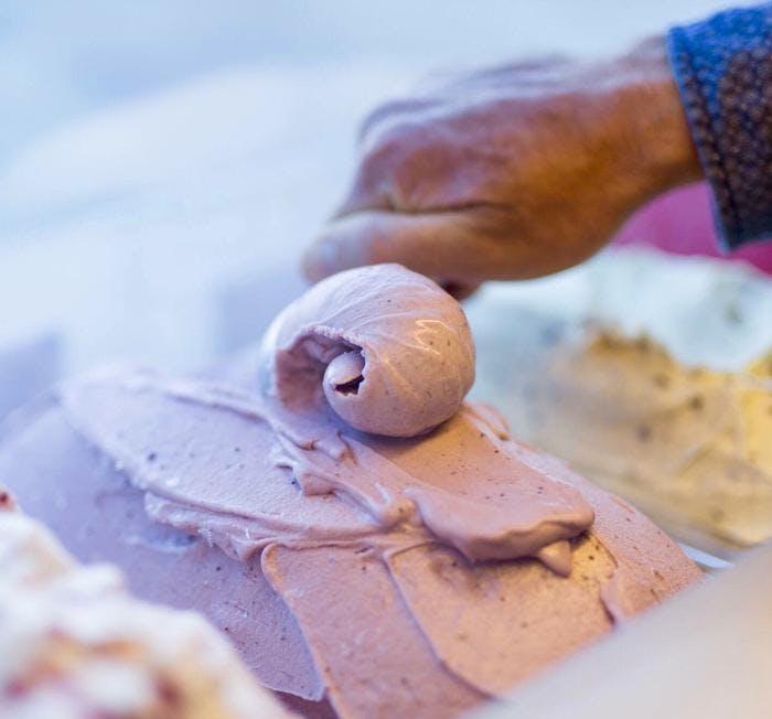 Lalele's will be rolling organic gelato.