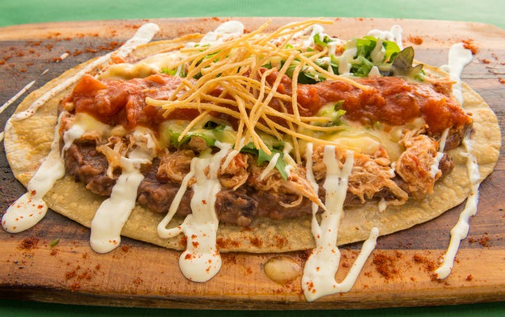 Well-known for their Mexican Machete foot-long taco