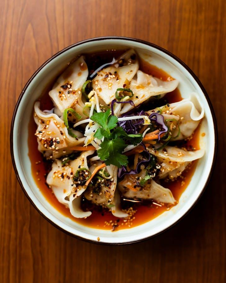 Sichuan Chilli Dumplings from General Kai