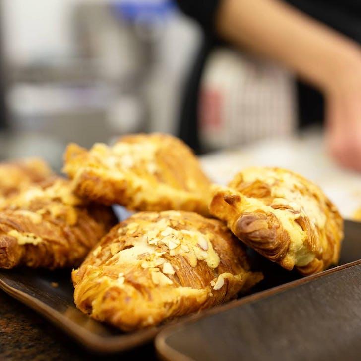 Almond Croissants from Vaniye Patisserie