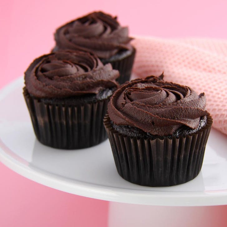Chocolate Rosette Cupcakes from Rocket Kitchen