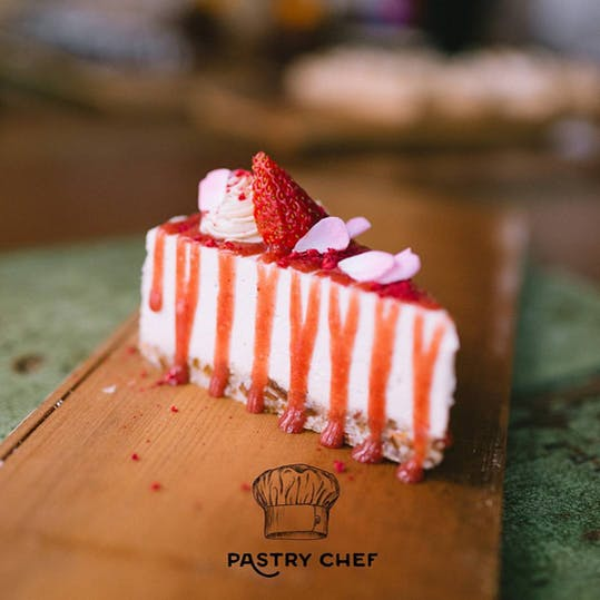 Raw strawberry goodness from Misters