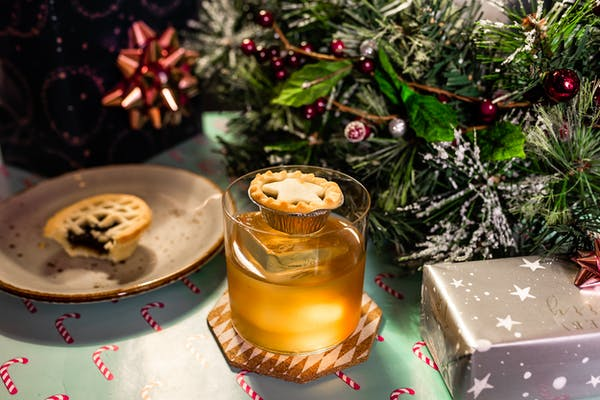 Clipper's mince pie cocktail