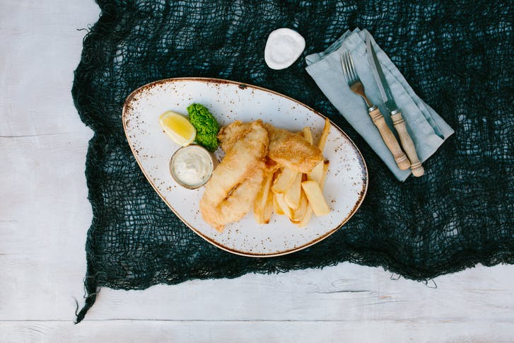 Fish & Chips from Regatta Bar & Eatery