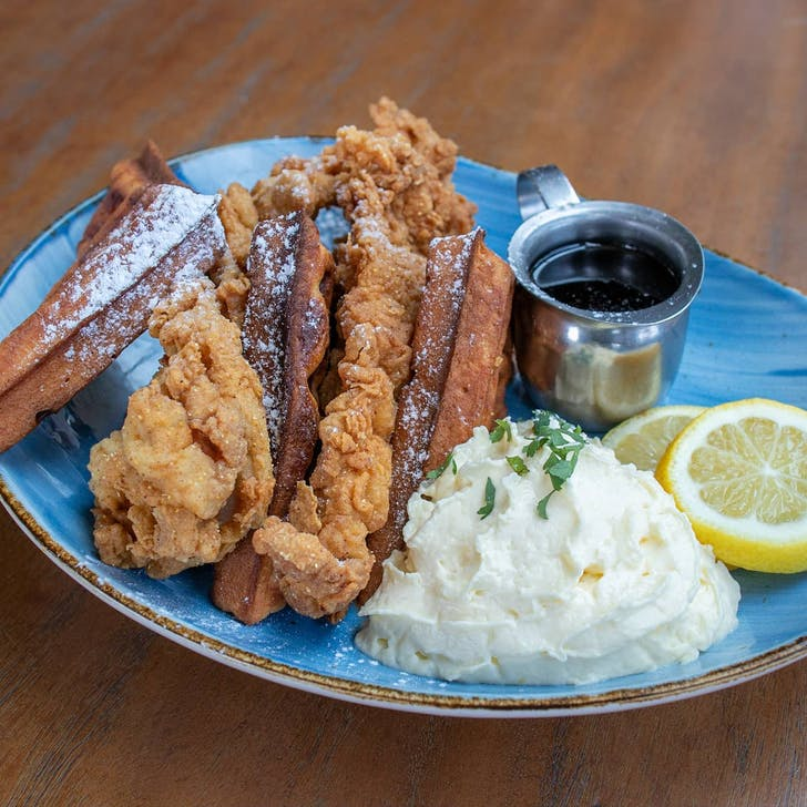 Their Louisiana Fried Chicken & Waffles are a game-changer