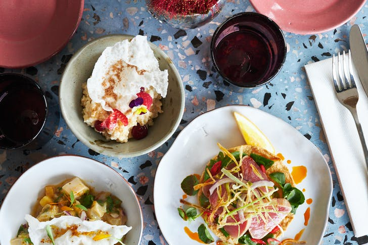 The ceviche on offers changes daily to suit the freshest catch of the day