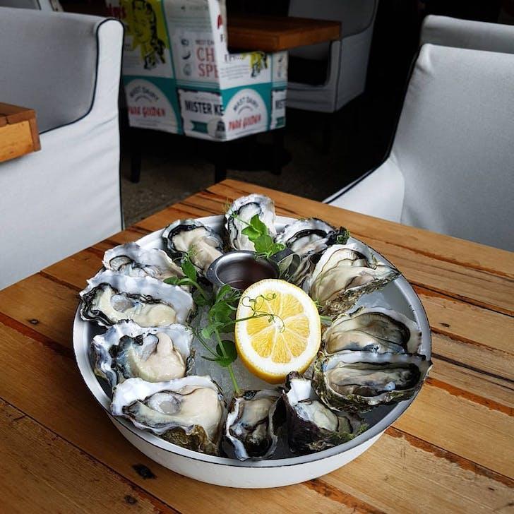 Oyster & Chop.