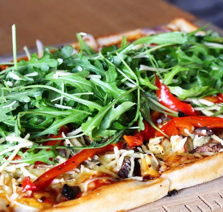 Dr Rudi's Veggo and Vegan pizzas