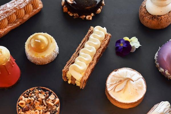 dessert spread from la petite fourchette