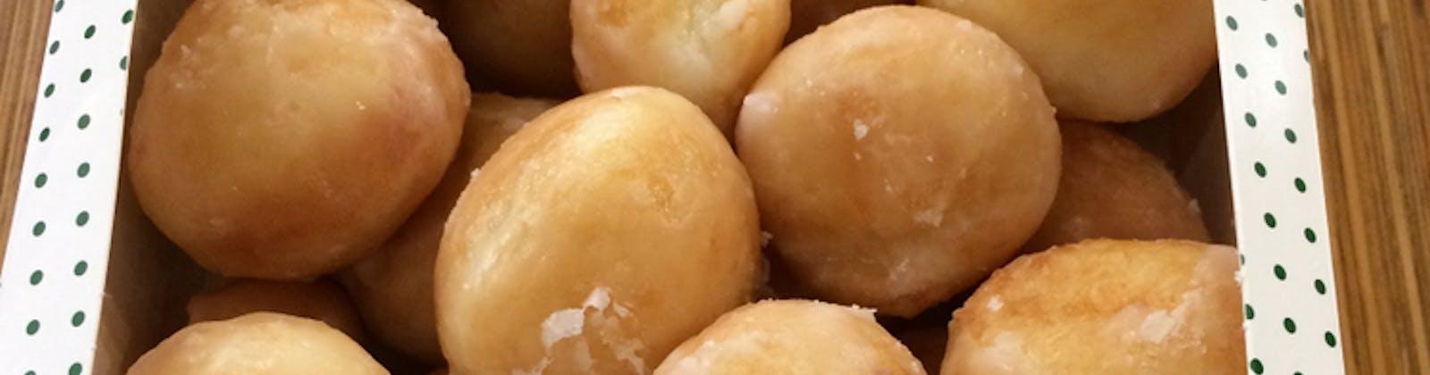 Krispy Kreme's bite sized glazed donuts
