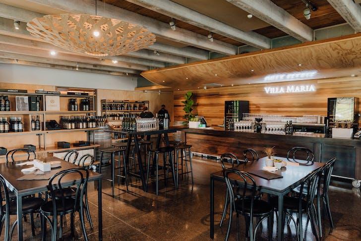Villa Maria's recently renovated Tasting Room.