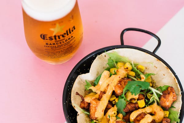 marina cantina's taco and beer bottomless lunch
