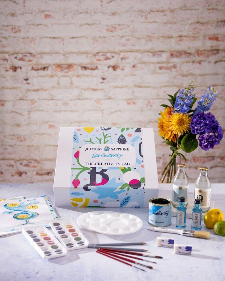 Get creative with Bombay Sapphire's Creativity Lab.