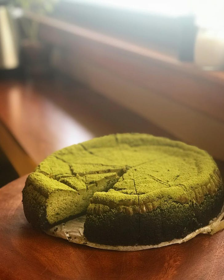 Macha Cheesecake from Coffee Pen