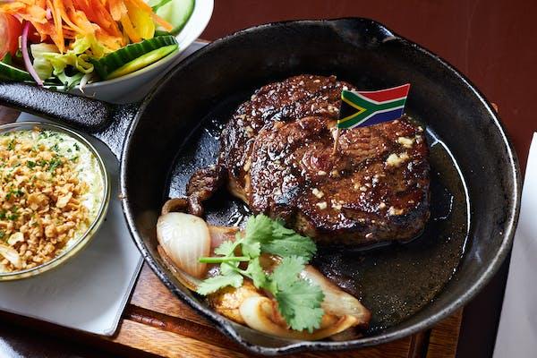 steak from bushman's grill