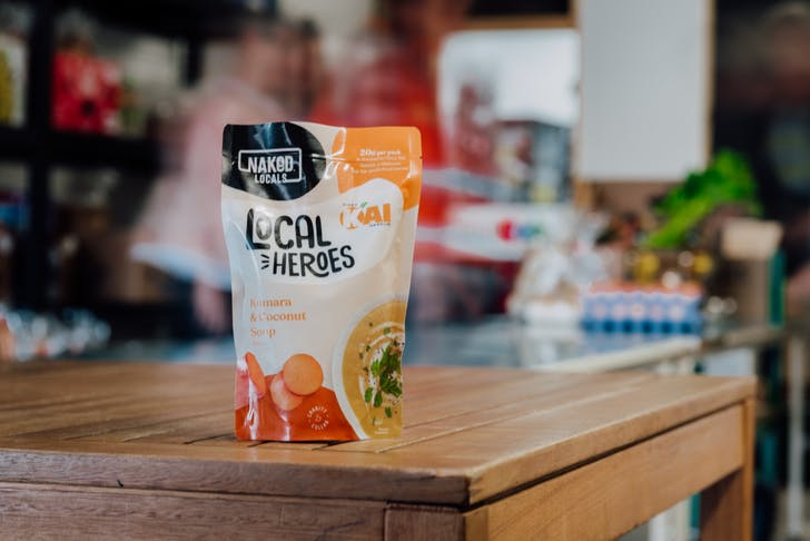 20 cents from specially marked packs of Naked Locals will go straight to Kiwi charities.