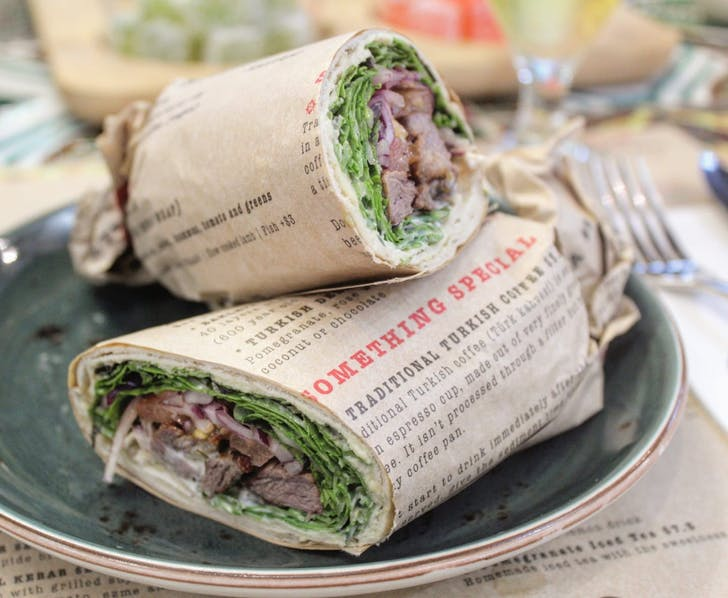 Turkish Wrap from Miss Istanbul