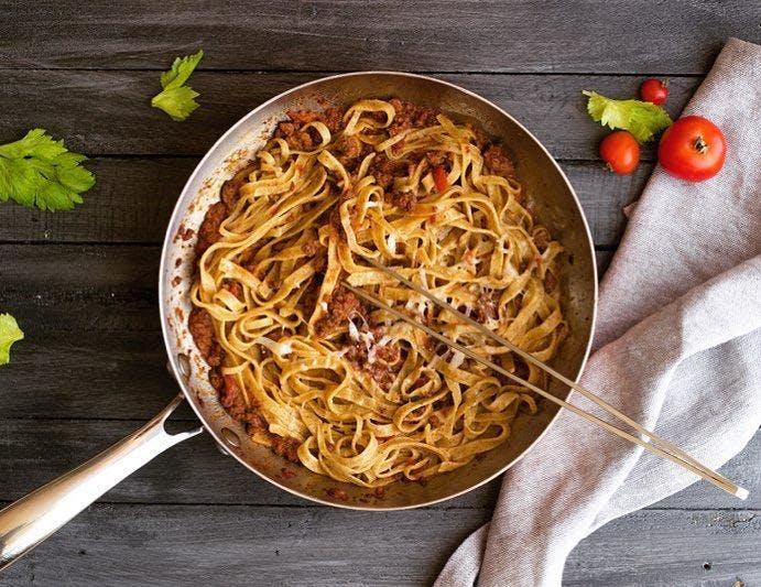 Homemade gluten free Tagliatelle from Amaranto