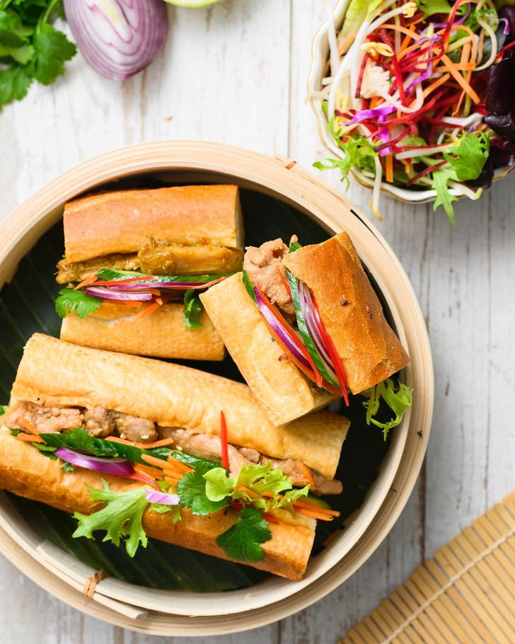 Mi And Chi's Banh Mi in full size and petite
