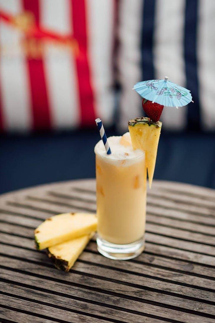 Pina Colada from Regatta Bar & Eatery