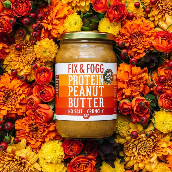 Fix & Fogg has released their new protein peanut butter.