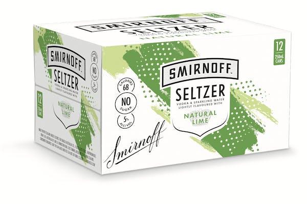 Smirnoff Seltzer's Natural Lime
