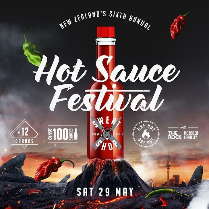 Auckland's 2021 Hot Sauce Festival.
