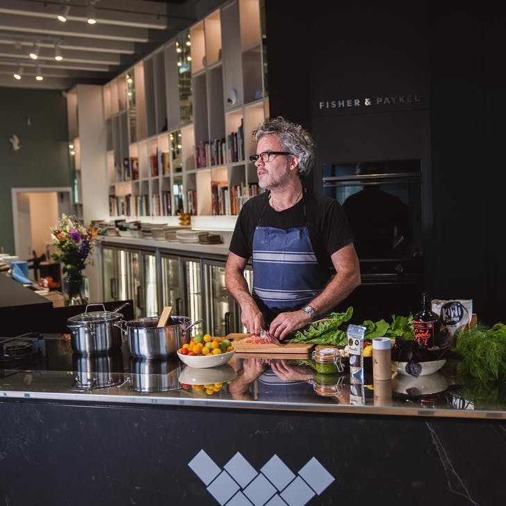You'll be led by Chef Peter Gordon himself in his brand new Homeland kitchens. (Source: Homeland NZ)