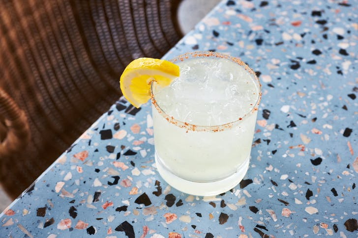We highly recommend a Signature Patron Margarita with any dish