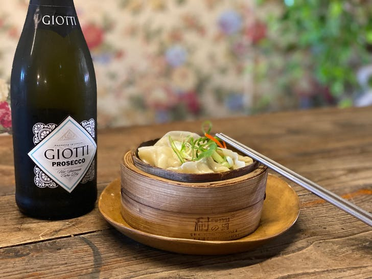 Daisy Chang's bottomless dumplings and Prosecco package