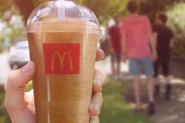 mcdonald's frozen coke drink new zealand