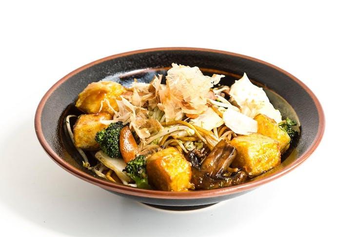 Teriyaki Tofu Yakisoba from &Sushi