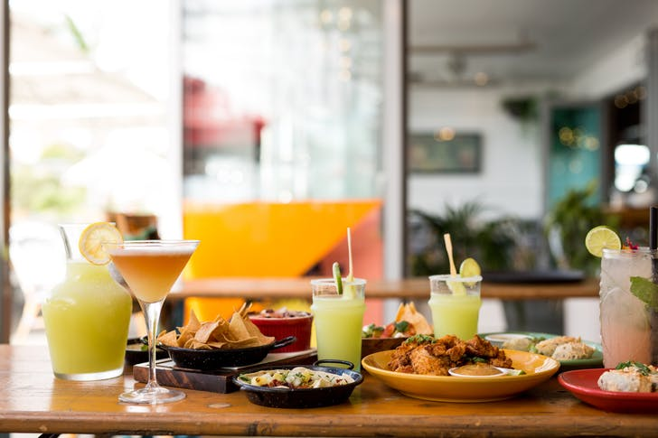 Marina Cantina's legendary margs and sangrias