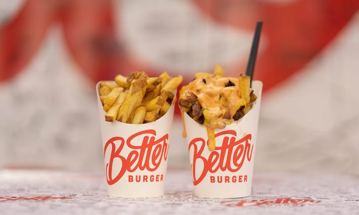 Epic style fries from Better Burger