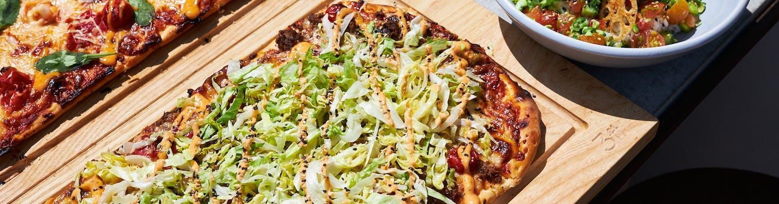 botany commons big mac pizza
