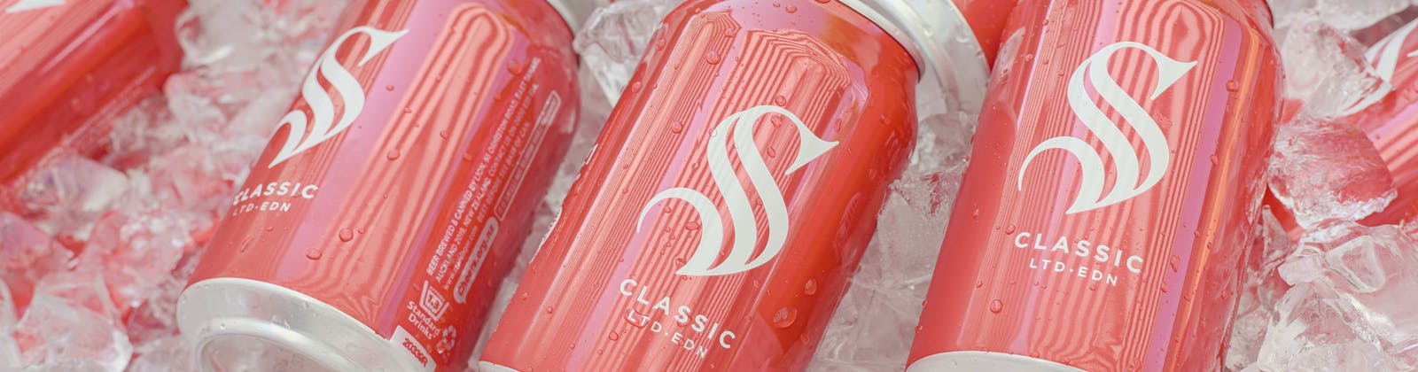 steinlager red cans